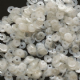 Value Pack 50g 4mm Satin White Semi-cupped Sequins.